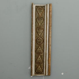 Photo of antique French Gilded and Painted Architectural Element